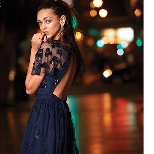 Gianni Bini Sandra Beaded Tulle Dress 5⭐️ Rated
